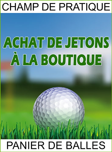 Distributrice de balles - Champ de pratique