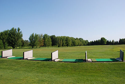 Champ de pratique - golf