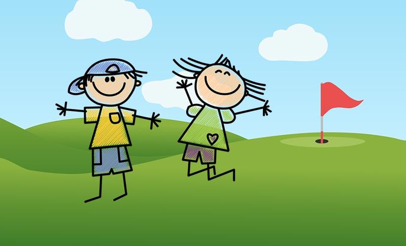 Promotion golf pour les enfants